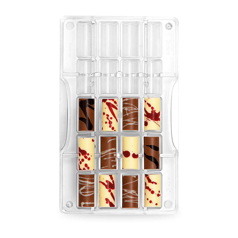 """Moule pour chocolat """"petit cylindre"""""""