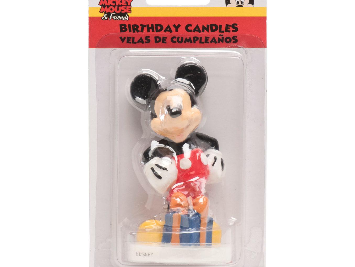 """Bougie """"Mickey"""" en 3D"""