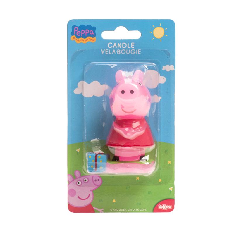 """Bougie 3D """"Peppa Pig"""""""