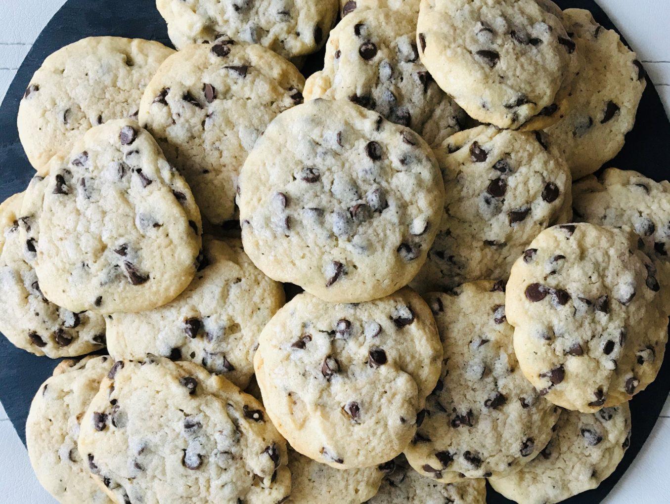 Cookies à la vanille et aux pépites de chocolat