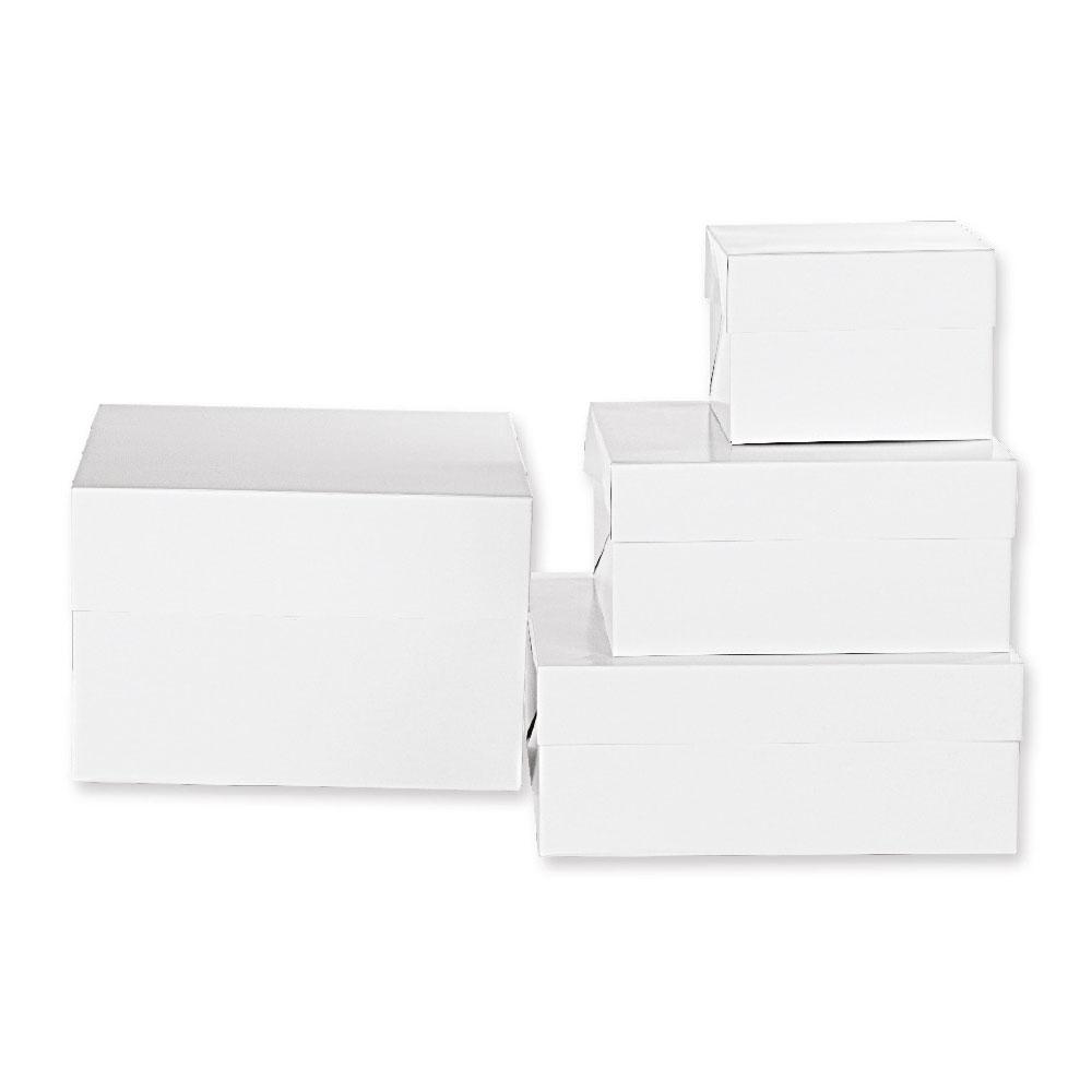 """Boîte d'emballage carrée """"15cm de haut"""""""