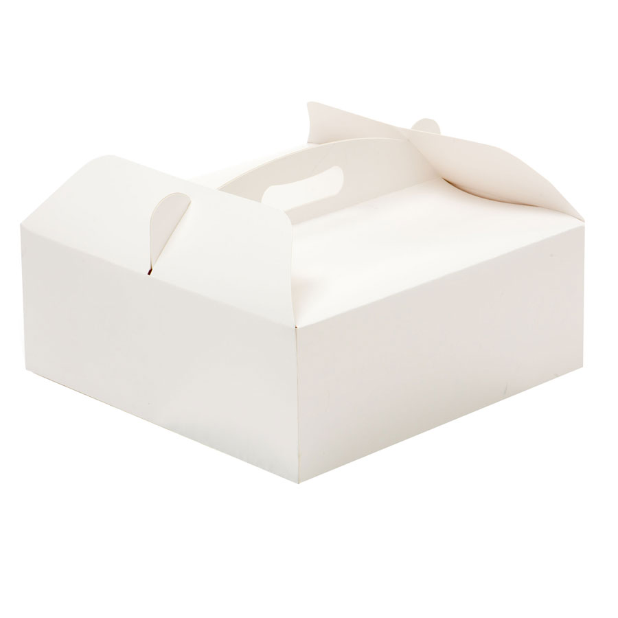 Boîte carrée avec poignée